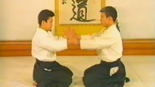 №1-6-6 приемы #МоритэруУэсиба #Айкидо #Aikido  合気道  учебный #фильм