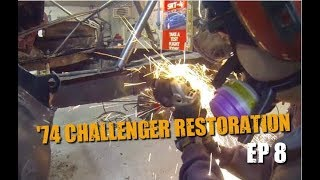 74 Dodge Challenger Restoration #8 - Left Frame Rail Repair