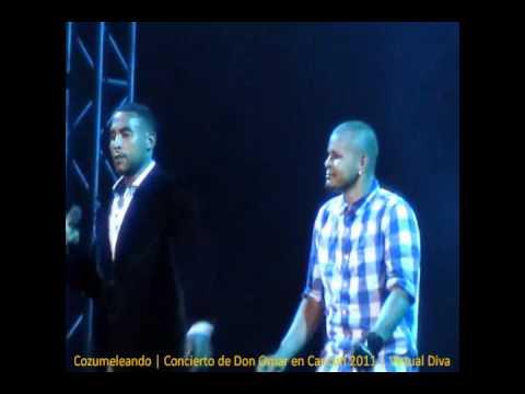 Cozumeleando concierto de don omar en canc n 2011 virtual diva youtube - Don omar virtual diva ...