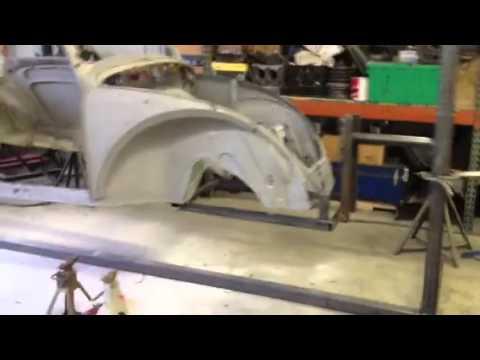 2012 Mustang For Sale >> VW bug Rotisserie - YouTube