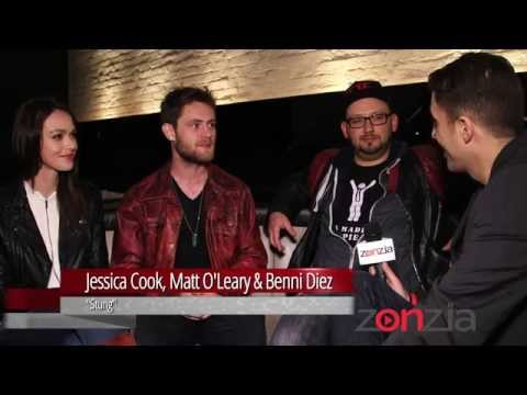 Jessica Cook, Matt O'Leary & Benni Diez on