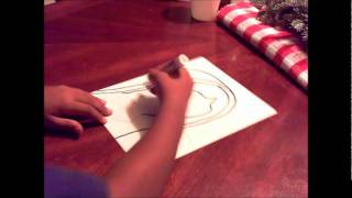 How to draw Our Lady of Guadalupe