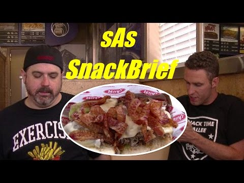sAs SnackBrief: Jerry's Subs & Pizza: The Fat Daddy Cheesesteak