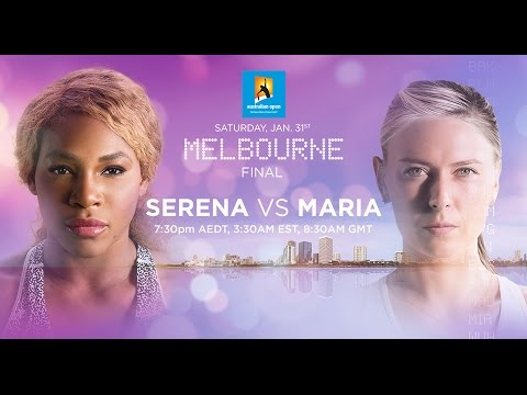2015 Australian Open Preview | Serena Williams vs Maria Sharapova