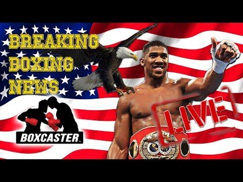 Boxing News Live: Joshua in the US, Garcia vs. Porter, Davis - Mayweather Beef! | BOXCASTER