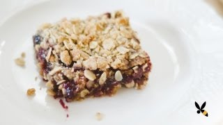 Oatmeal Jam Cookie Bars Recipe