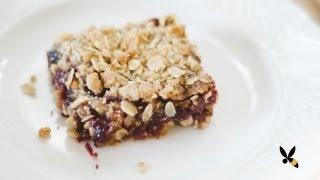 Oatmeal Jam Cookie Bars Recipe