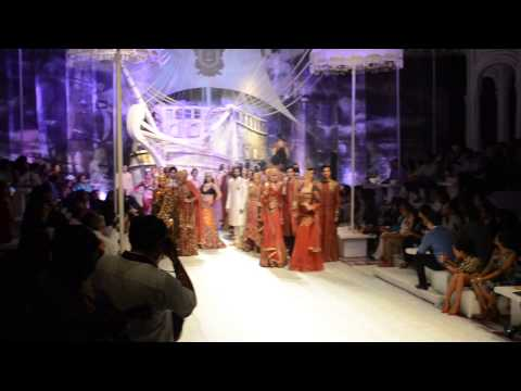 J J Vallaya's Asia Bridal Fashion Week 2013 Finale Show-stoppers Kabir Bedi and Kangana Ranaut
