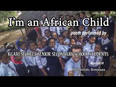 I AM AN AFRICAN CHILD POEM