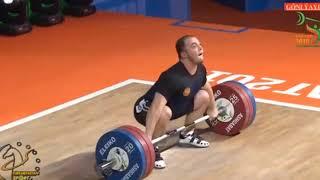 Окулов Артём (РФ) - Чемпион мира-2018 тяжелая атлетика в.к. 89 кг Weightlifting World Champion