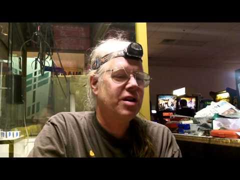 Tim Arnold of Pinball Hall of Fame (Part 2) interview April 2013 arcade in Las Vegas NV.