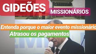 GIDEÕES MISSIONÁRIOS - O ESTRAG0 FOI GRANDE