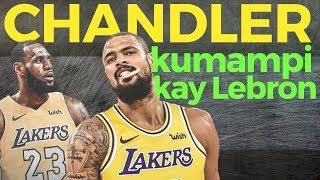 Tyson Chandler Lumipat na sa Lakers: Kumampi kay Lebron James