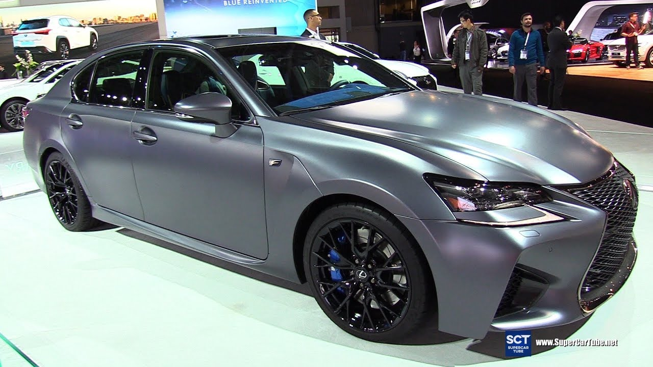 Lexus Gs F Exterior And Interior Walkaround  New York Auto Show
