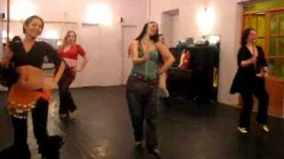 Танец с тростью. Студия восточного танца Багира.