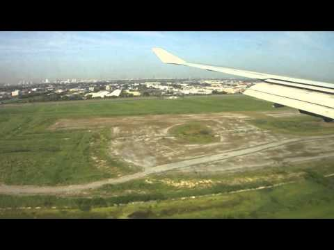 Orient Thai Airlines B747-400 Bangkok Landing