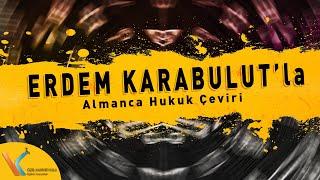 Erdem Karabulut - Almanca Hukuk Çeviri Gramer Demo (Kariyer Yolu / Online YDS Center)