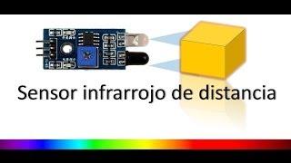 detector de obstáculos con infrarrojo y arduino