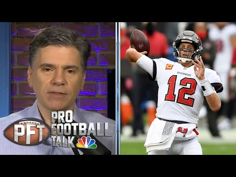 Tom Brady outduels Justin Herbert in high-scoring battle | Pro Football Talk | NBC Sports
