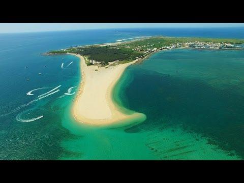 澎湖/吉貝嶼/吉貝沙尾/Jibei Sand Beach/Jibeiyu/空拍/DJI P3P/UHD 4K