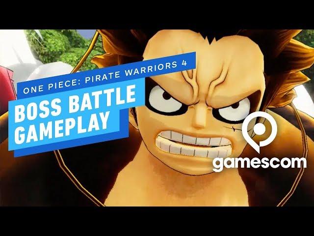One Piece: Pirate Warriors 4 (видео)