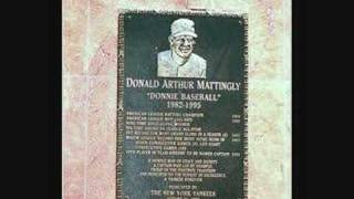 Don Mattingly - induct donnie