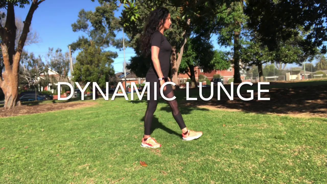 How to perform dynamic lunges safely & effectively