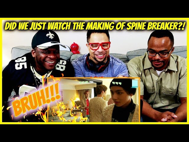 BTS GAYO : Track 15 - MAKING OF SPINE BREAKER Reaction!!