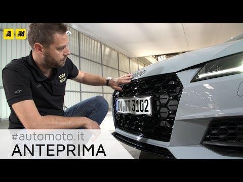 Audi TT 2018 | Ecco restyling, 20th Anniversary e TTS Competition