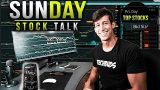 TOP STOCKS TO WATCH AS THE STOCK MARKET DROPS | SUNDAY STOCK TALK