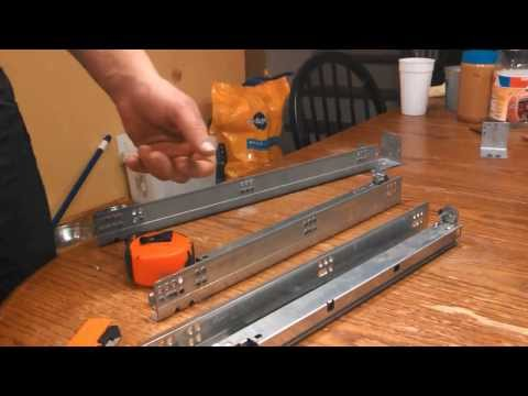 How To Install Blum Tandem Undermount Drawer Slides T Doovi