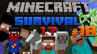 Minecraft Survival 1.7 - Esta Muy Dificil