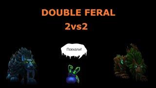 ПВП Друид БФА / PVP Druid BFA №2 /DOUBLE FERAL/ World of Warcraft / 2на2 / 2vs2 / arena
