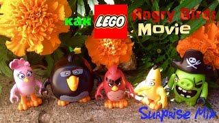 Фигурки ЭНГРИ БЁРДС В КИНО как LEGO - ОБЗОР игрушек-птичек из Китая - LEGO Angry Birds Movie figures