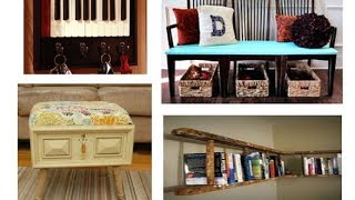 28 smart ways to reuse or repurpose old furniture | Learning Process