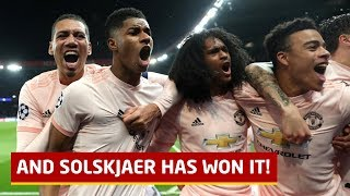 And Solskjaer Has Won It! Paris St Germain 1-3 Manchester United | Tactical Analysis | United Review