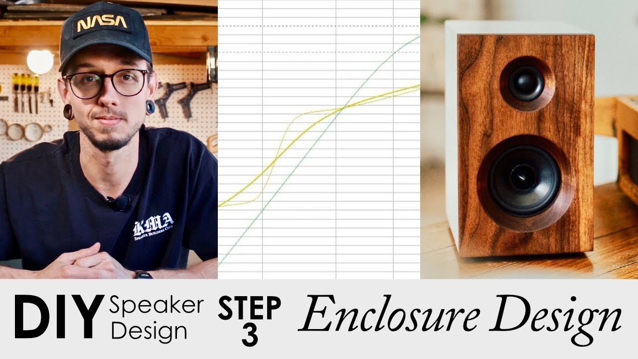Easy Diy Speaker Enclosure Design Using Free Software In 5 Steps How To Design Your Own Speakers Youtube