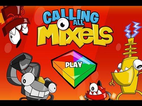 Calling All Mixels - Cartoon Network Games (HD) - YouTube