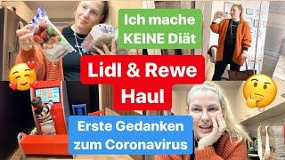 OOTD l Massage im Fitnessstudio l Lidl & Rewe Haul l Erste Gedanken zum Coronavirus l Vlog 1049