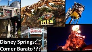 Disney Springs: Comer Barato???