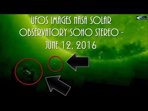 UFOs images NASA solar observatory SOHO STEREO - June 12, 2016