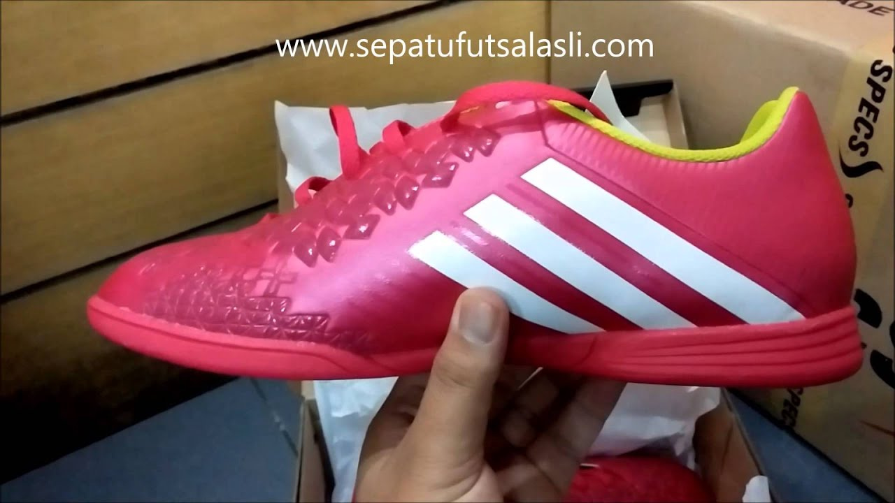 sepatu futsal adidas predito lz samba berry slime youtube