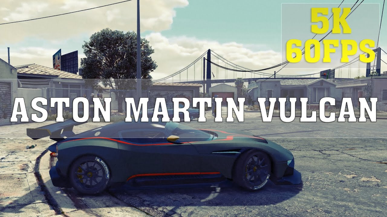 gta v mods - aston martin vulcan - epic moments | gta v funny