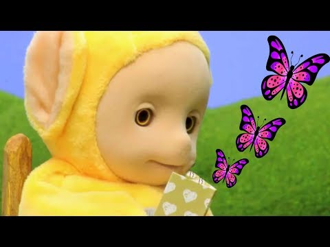 Thumbnail: Teletubbies | Chasing Butterflies | WATCH ONLINE | Teletubbies Stop Motion | Cartoons for Children