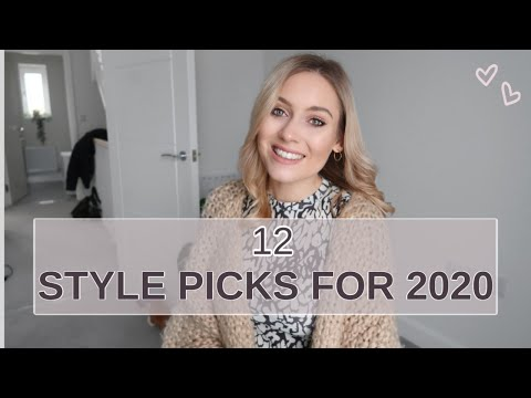 12 MUST HAVE STYLE PICKS FOR 2020! | THINGS YOU NEED IN YOUR JANUARY WARDROBE. http://bit.ly/2GPkyb3