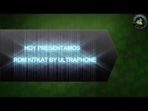 ROM KITKAT By ULTRAPHONE PARA MOTOROLA MOTOLUXE
