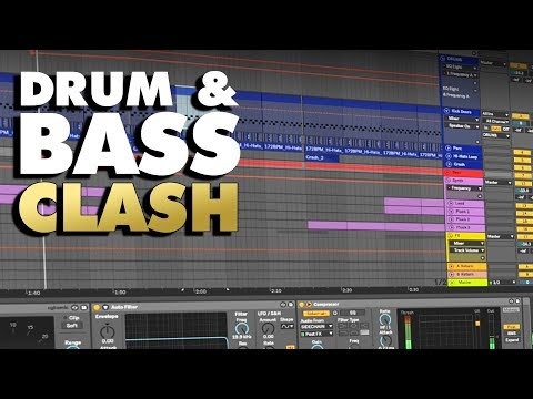 Download | Drum & Bass Clash | Ableton Template (+ Samples, Stems