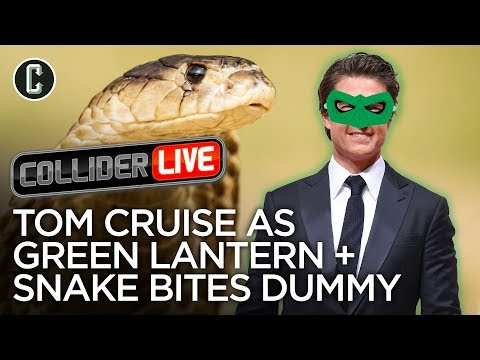 Collider Live 2: Tom Cruise As Green Lantern  Cobra Bites Dumb Guy in Face