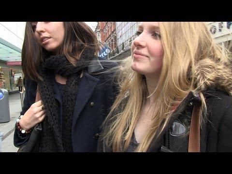 Girls share their secrets about men. Real Irish  & Dublin accent. Jokes. Fun. LOL.