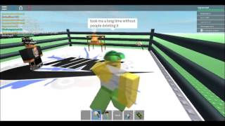 WWE Ring in ROBLOX Admin House